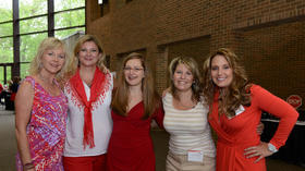 Kane and DuPage counties join the fight against heart disease in women at the Breakfast in Red event on Friday, May 16