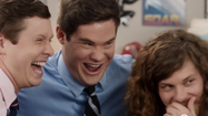 Zac Efron, Seth Rogen flash the 'Workaholics'