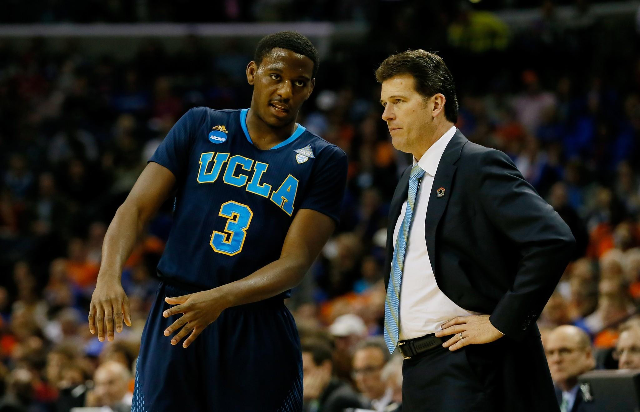 Jordan Adams will return to UCLA and Coach Steve Alford next season.