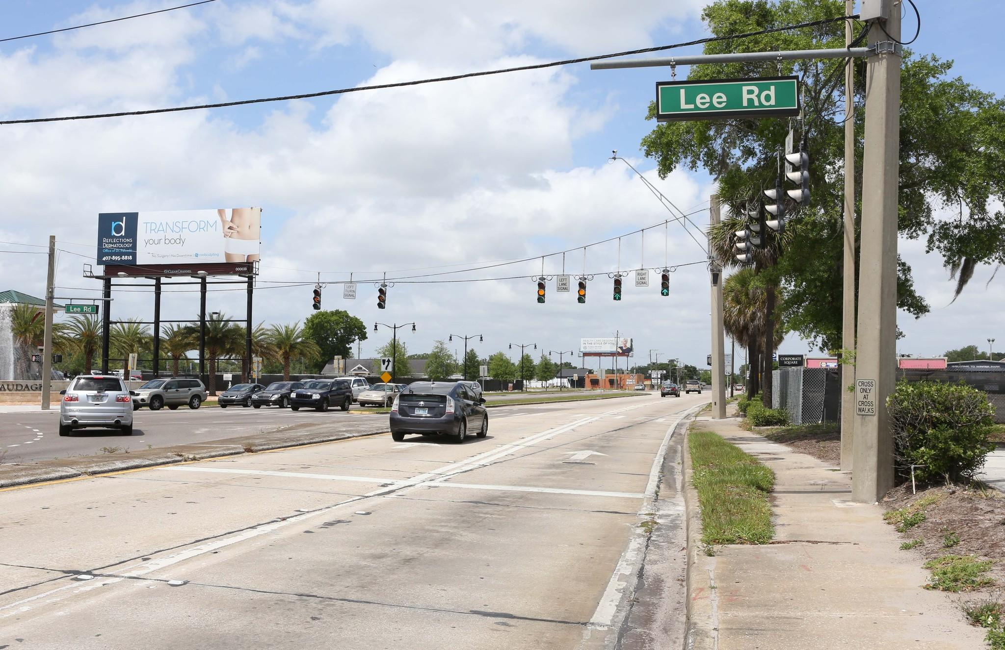 Winter Park and the Florida Department of Transportation are considering an extension of Lee Road, which now dead-ends at U.S. 17-92.
