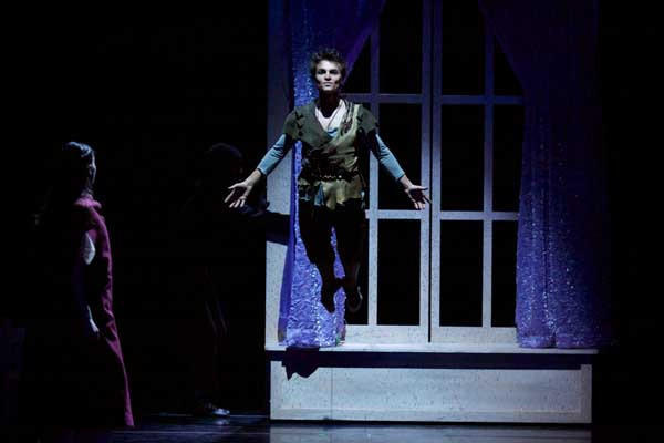 "Marc Petrocci flies in ""Peter Pan From the Milwaukee Ballet"" on KOCE."