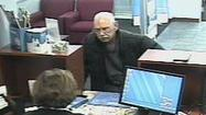 Elderly bank robber sentenced to prison