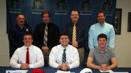 Three Lemont football players finalize collegiate plans