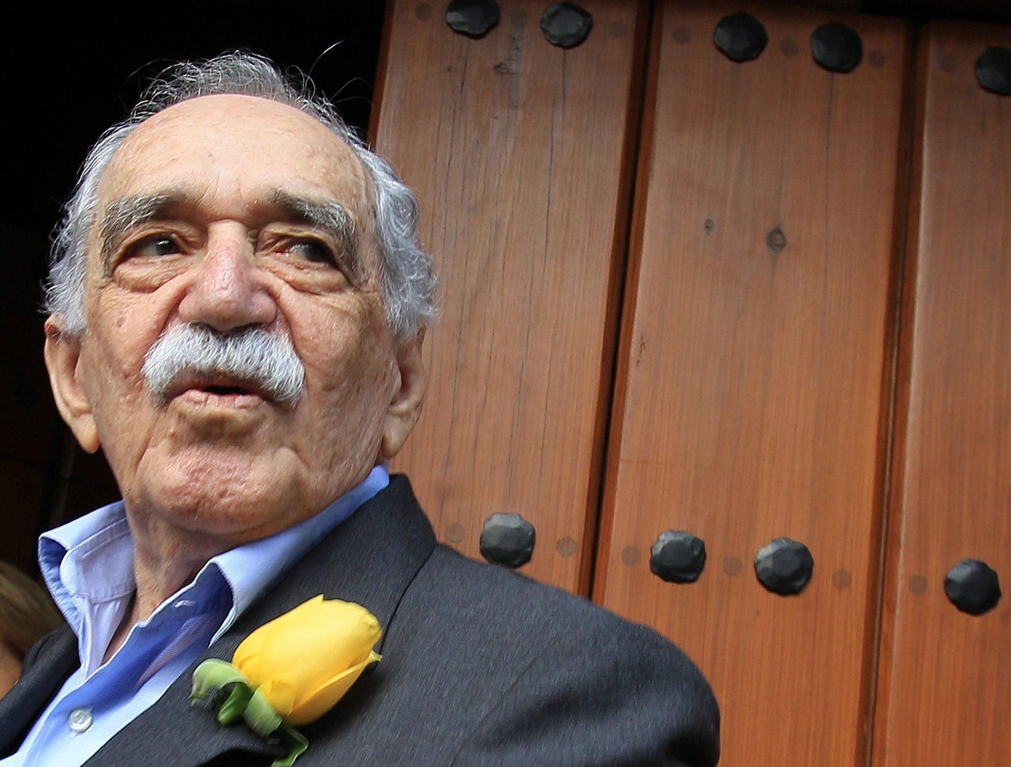 Gabriel Garcia Marquez, at home in Mexico before his final illness.