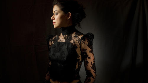 "Actress Tatiana Maslany, 28, has drawn critical acclaim for her leading role in the BBC's clone drama ""Orphan Black."" The actress carries the show by playing seven roles. She is photographed at the Langham Hote"