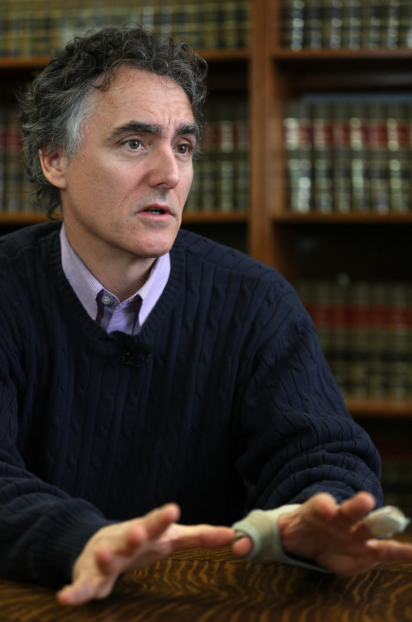 Cook County Sheriff Tom Dart talks about Harvey and other small towns in the county.