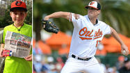 Peanut allergy links Orioles reliever Brian Matusz with young fan