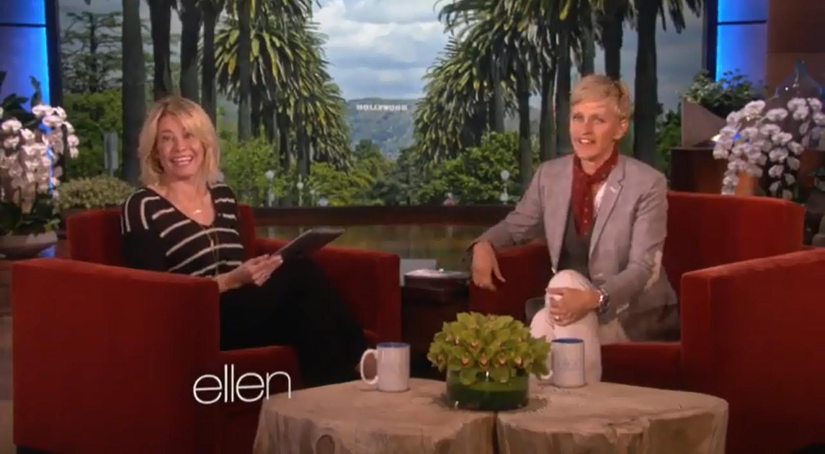 Ellen DeGeneres and chelsea handler