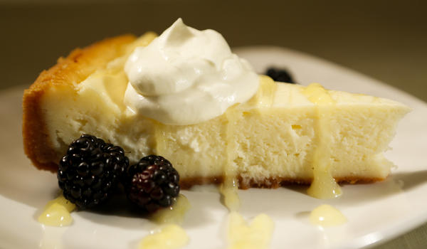 The Dutch Frontier's lemon cheesecake