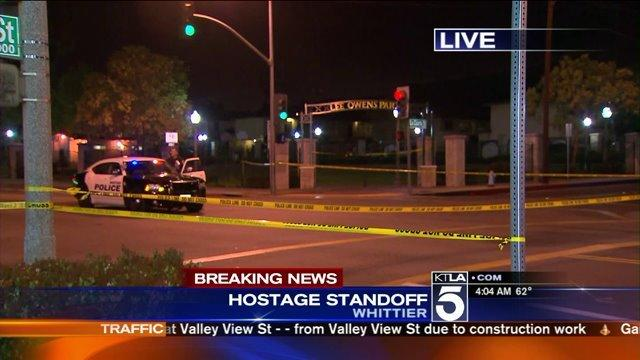 Hostage Standoff Continues in Whittier