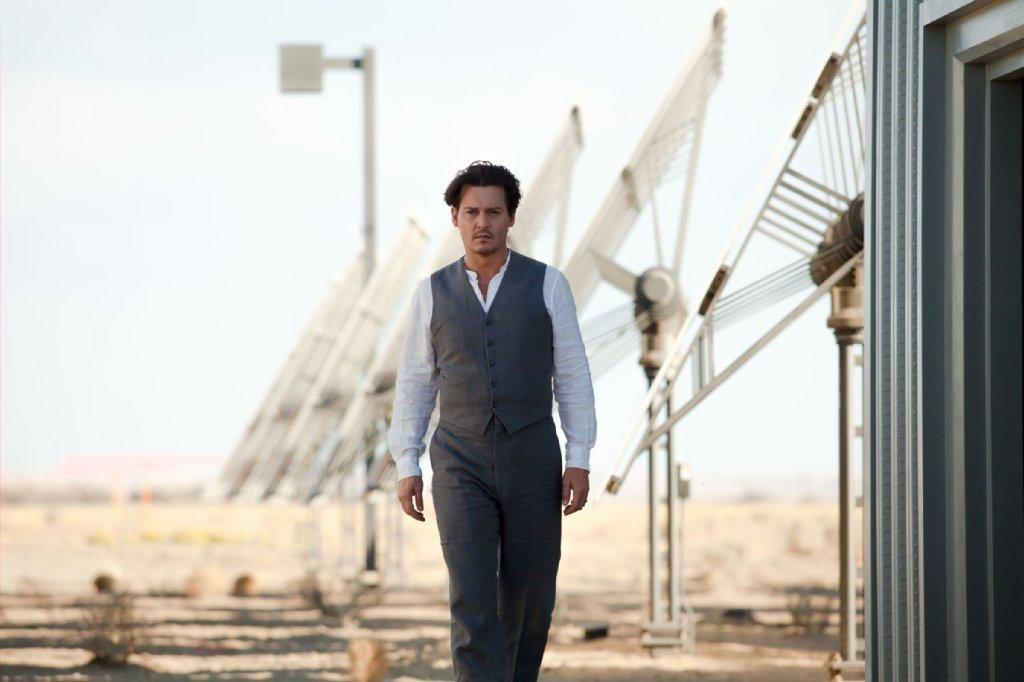 "Johnny Depp's ""Transcendence."""