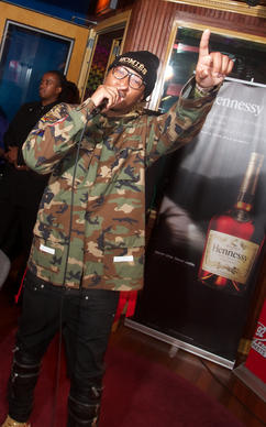 "Rapper/singer Future hosted a Hennessy V.S.-sponsored listening sesssion for his album, ""Honest,"" April 15, 2014 at Pressure Point Recording Studios."