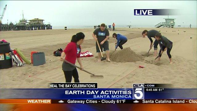 Heal the Bay Earth Day- Weekend Long Activties