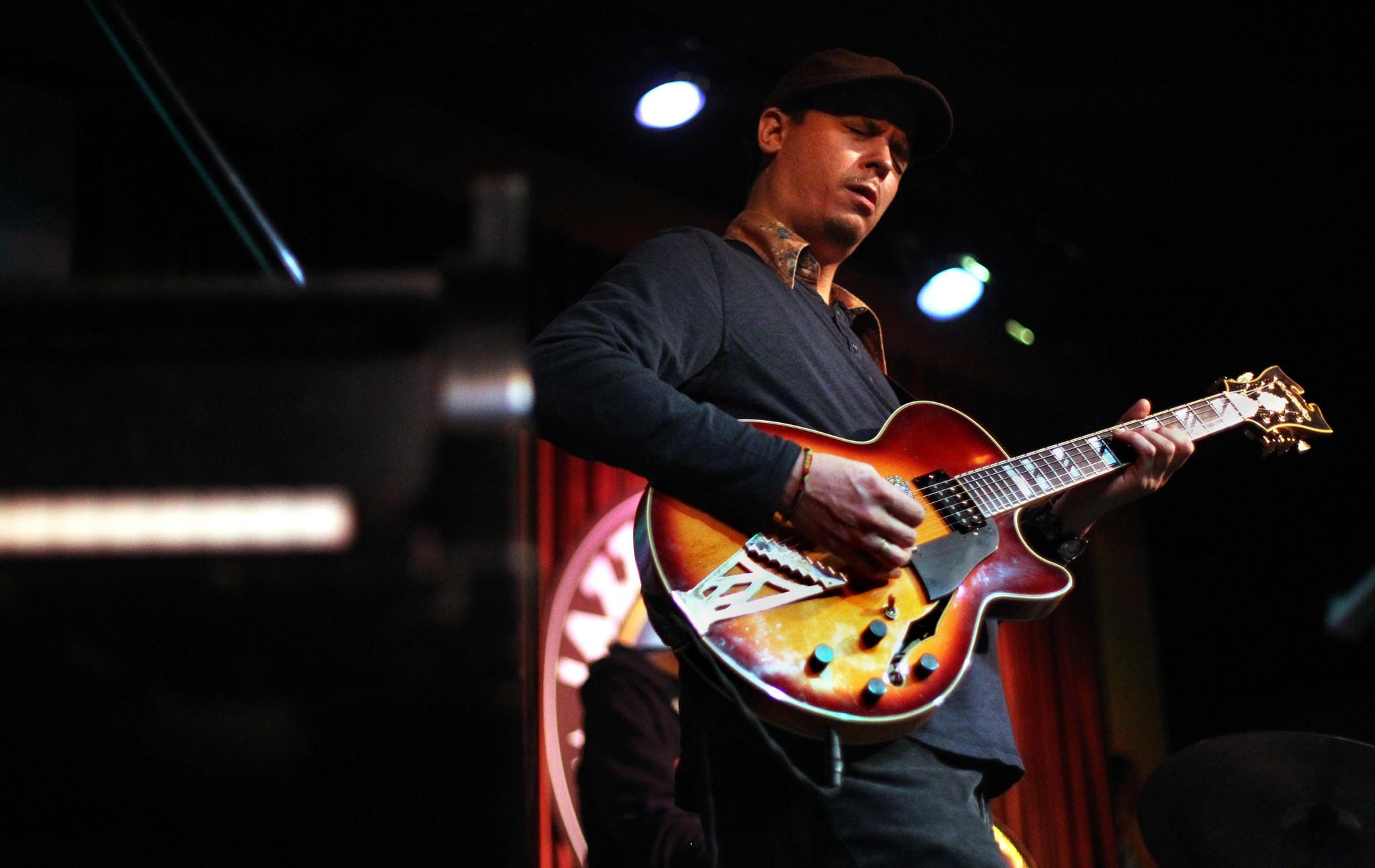 Jazz guitarist Kurt Rosenwinkel performs at Jazz Showcase.