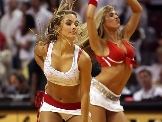 <b>Photos:</b> Miami Heat Dancers in action - Heat dancers