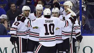Blackhawks satisfied with game, not outcome