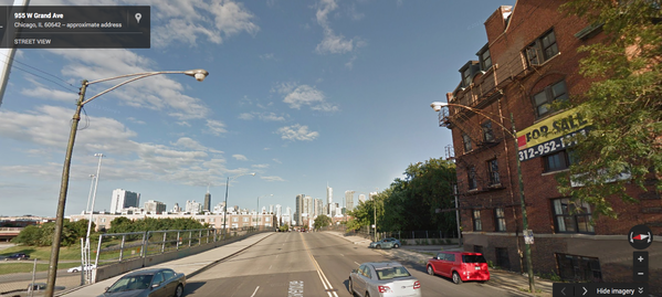 Google Street View of 955 W. Grand Ave.