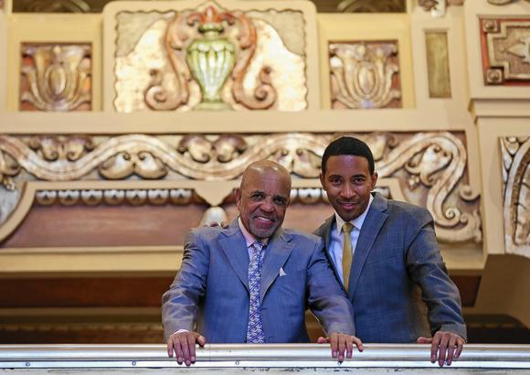 Berry Gordy and Charles Randolph Wright