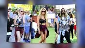 Celebrities Show Off Coachella Fashion