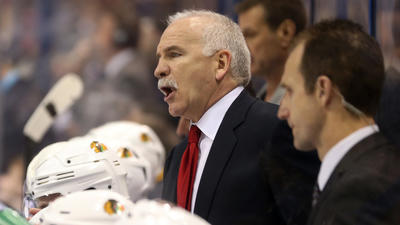 Quenneville apologizes; fined $25,000 for gesture