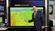 Video: Warm weekend ahead, warmest on Easter Sunday