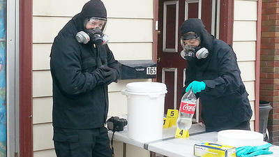 Police: Lehighton couple ran meth lab while kids lived in home