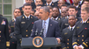 Obama awards trophy to Navy football team [Video]