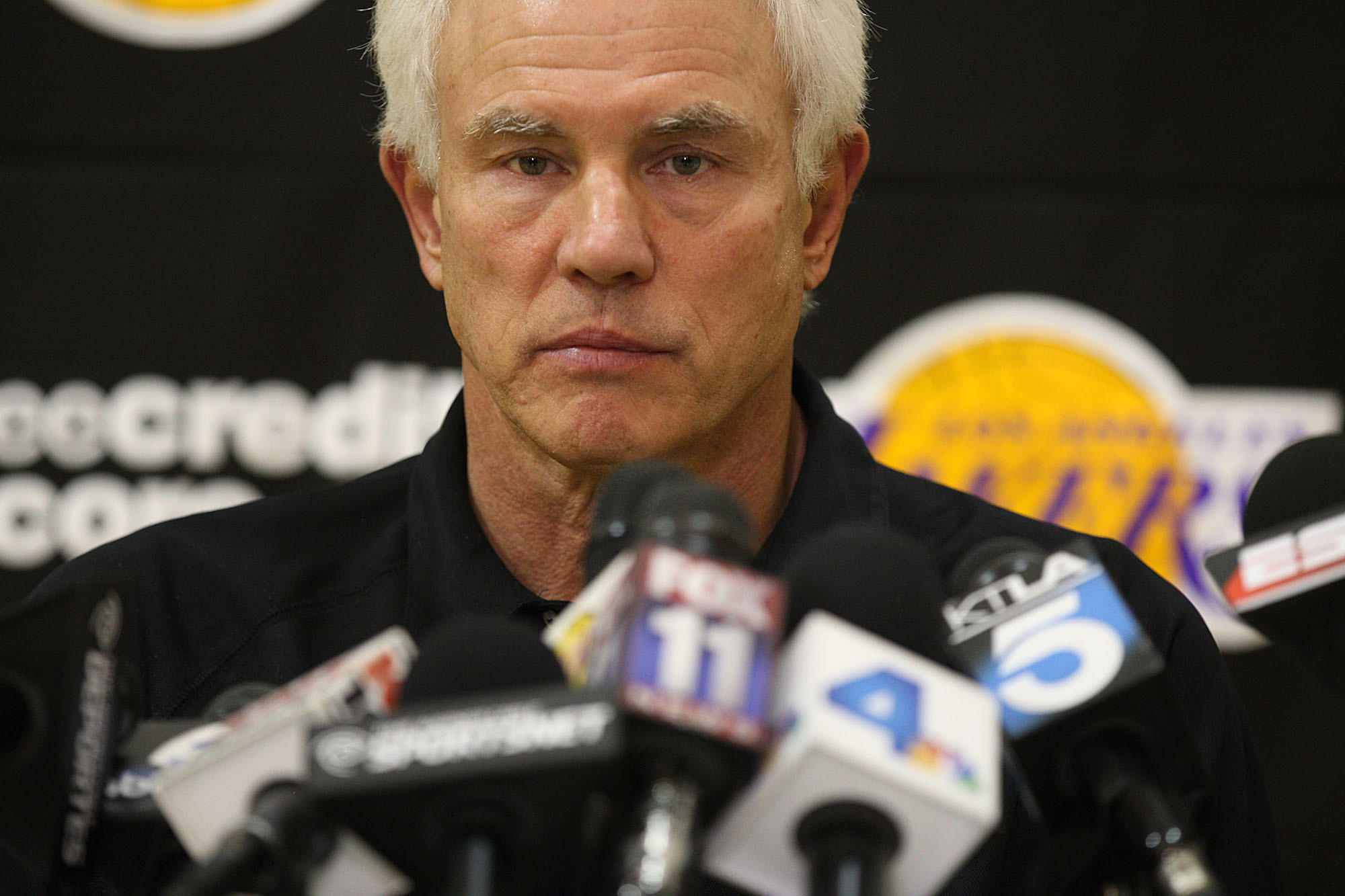 GM Mitch Kupchak preaches patience for Lakers fans latimes