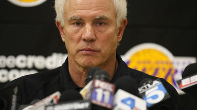 GM Mitch Kupchak preaches patience for Lakers fans