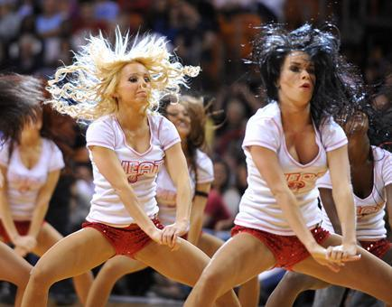 Photos: Miami Heat Dancers in action - Heat dancers