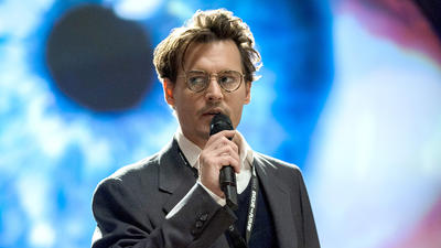 Film Review: In 'Transcendence,' Depp plays God, sort of