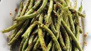 Wrinkled green beans