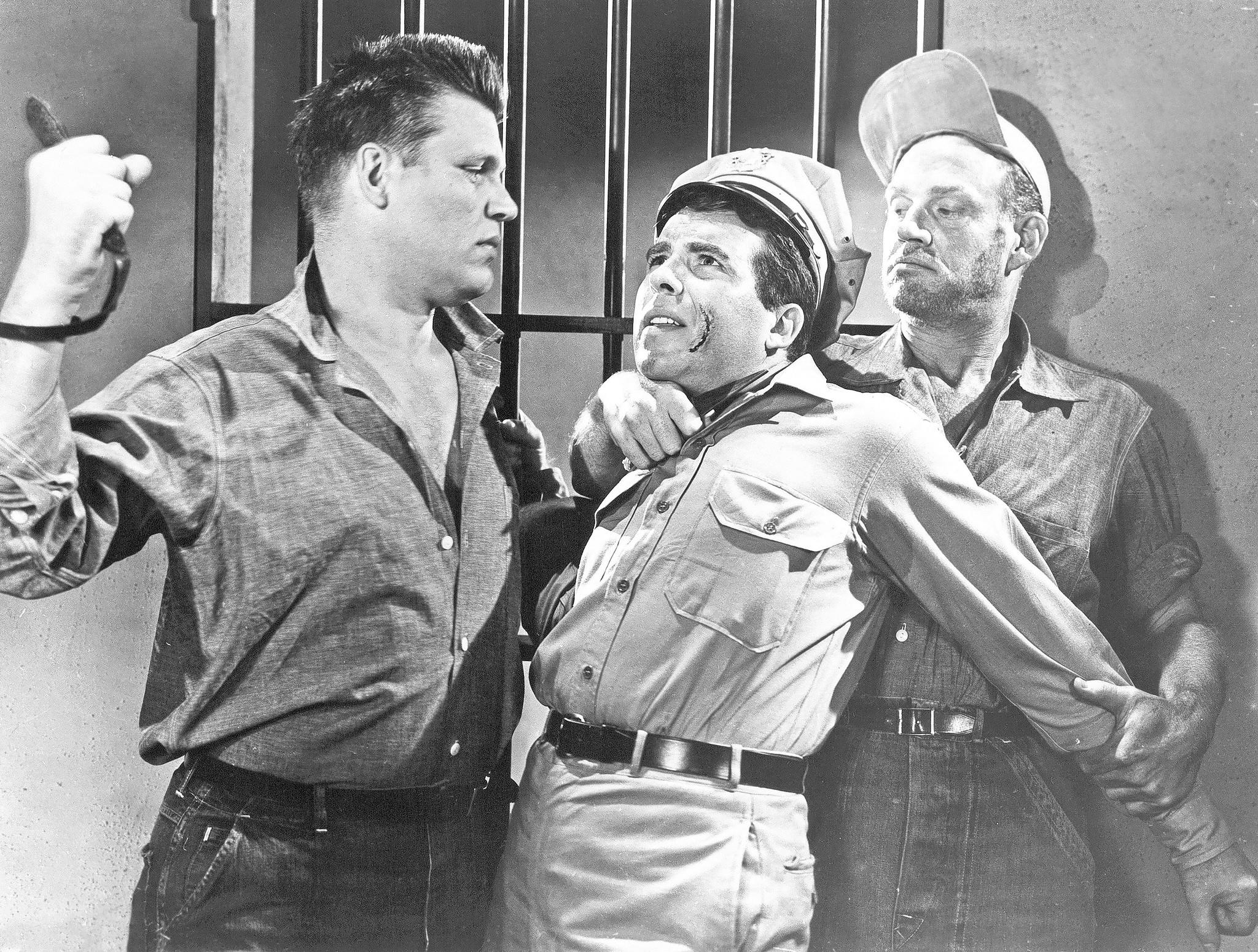 """A scene from """"Riot In Cell Block 11,"""" now available from Criterion."""