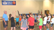 Learning and fun combine at Faith Christian Academy summer volleyball and basketball camps