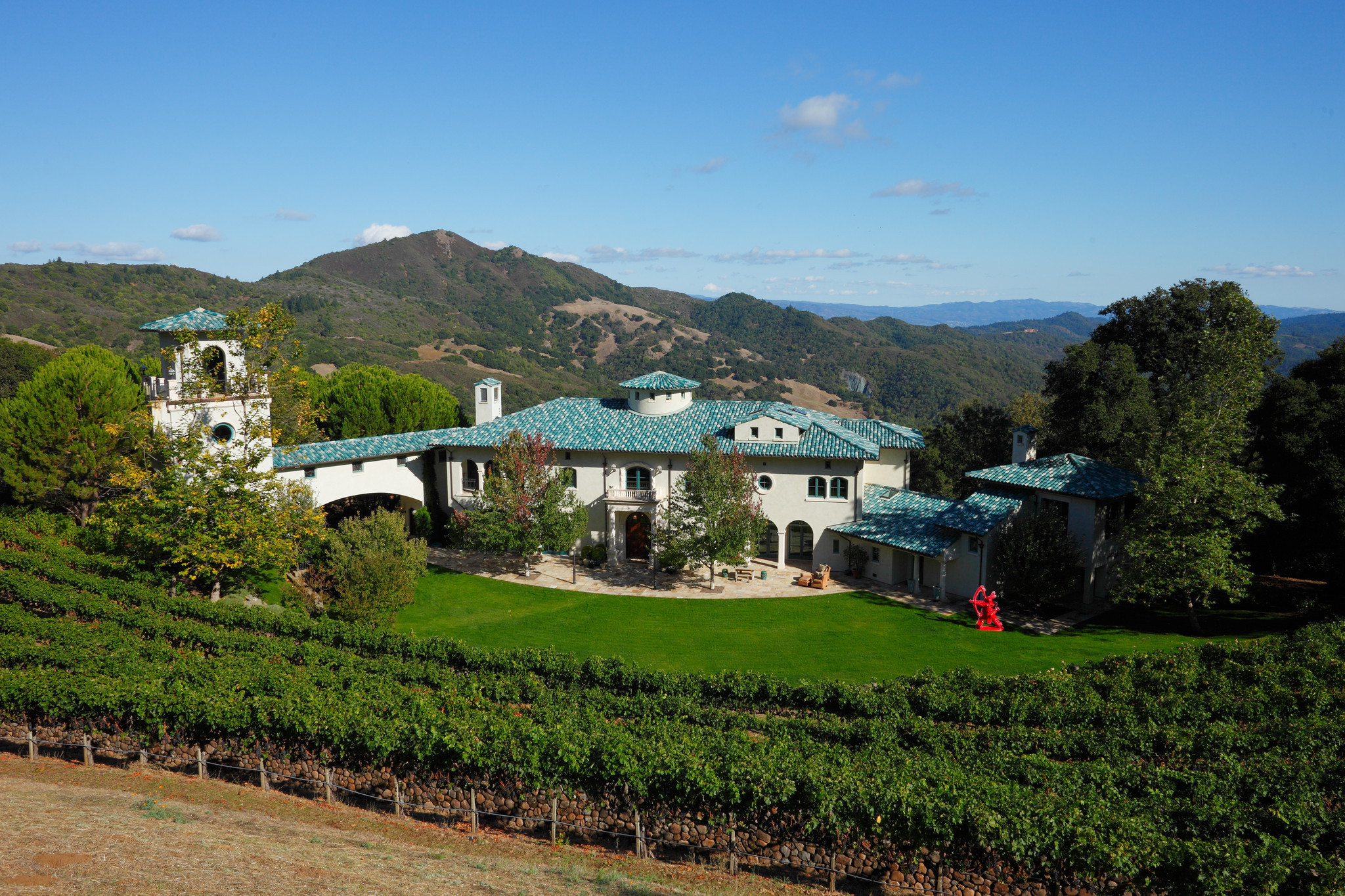 napa estate of the late robin williams sells in all cash deal la times - Robin Williams Bedroom