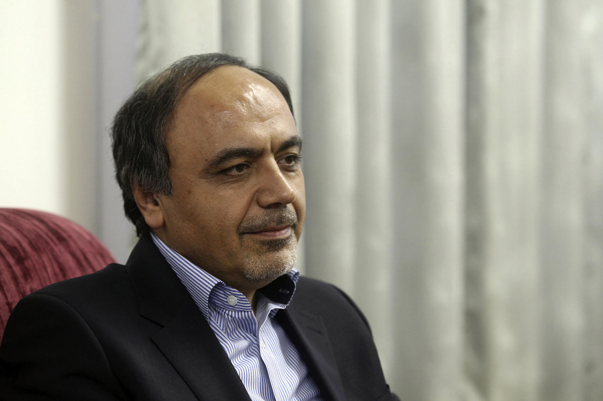 Hamid Aboutalebi, an Iranian diplomat who was recently named as Iran's ambassador to the United Nations, has been barred from receiving a U.S. visa because of his membership in a student group that took over the U.S. Embassy in Tehran in 1979.