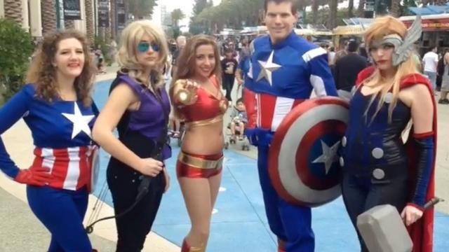 Pop culture expo WonderCon 2014 kicks off in Anaheim
