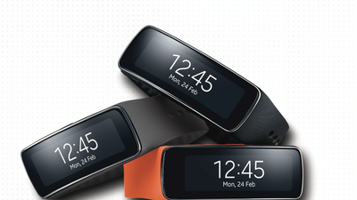 Samsung Gear Fit is geared for exercise but uncomfortable and pricey