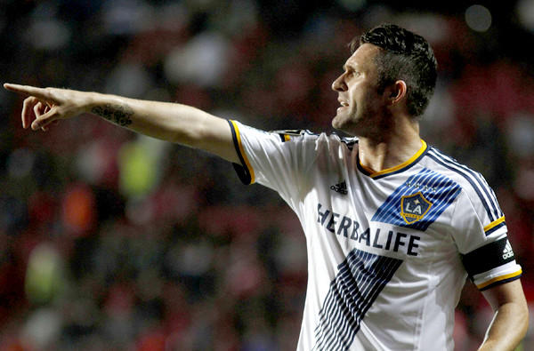 Robbie Keane provided the only goal of the game when the Galaxy defeated the Vancouver Whitecaps last week at StubHub Center.
