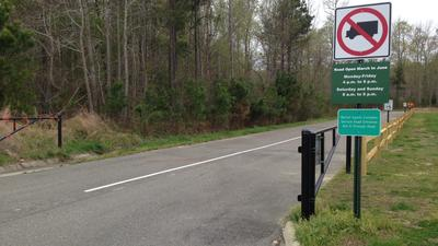Warhill service road gets big test Saturday