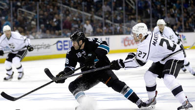 Kings' take-away from Game 1 playoff loss to San Jose? 'Play better'