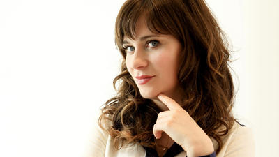 Zooey Deschanel enters new territory