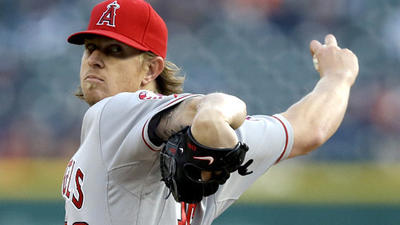 Angels power way past Tigers, 11-6