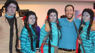 """Avatar"" fans in Fort Lauderdale"