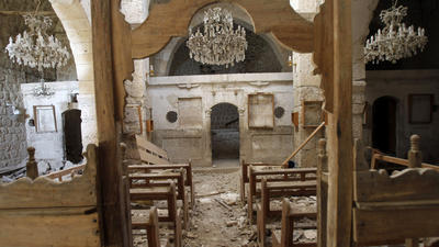 In Damascus, Christians briefly ignore war for Easter