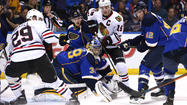 Game 2 photos: Blues 4, Blackhawks 3 (OT)
