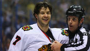 Watch Brent Seabrook's hit on David Backes