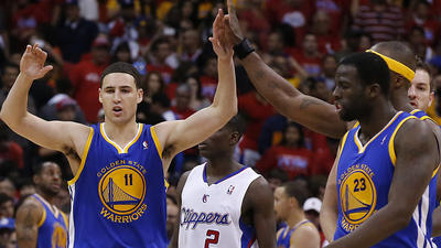 Fumes, fouls and 'Family Feud' at Clippers-Warriors game