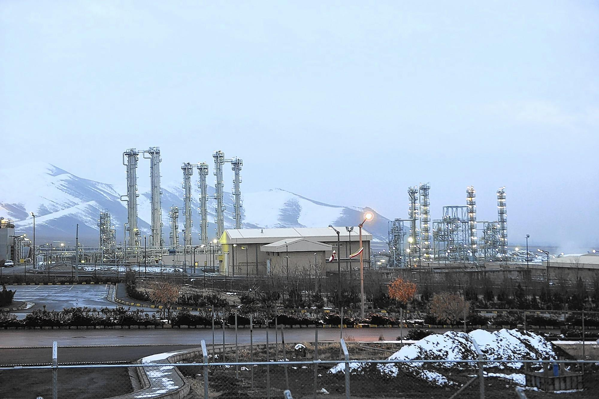 Iran says its Arak nuclear plant, seen in January of 2011, is being redesigned to produce less plutonium, a key ingredient in nuclear weapons.