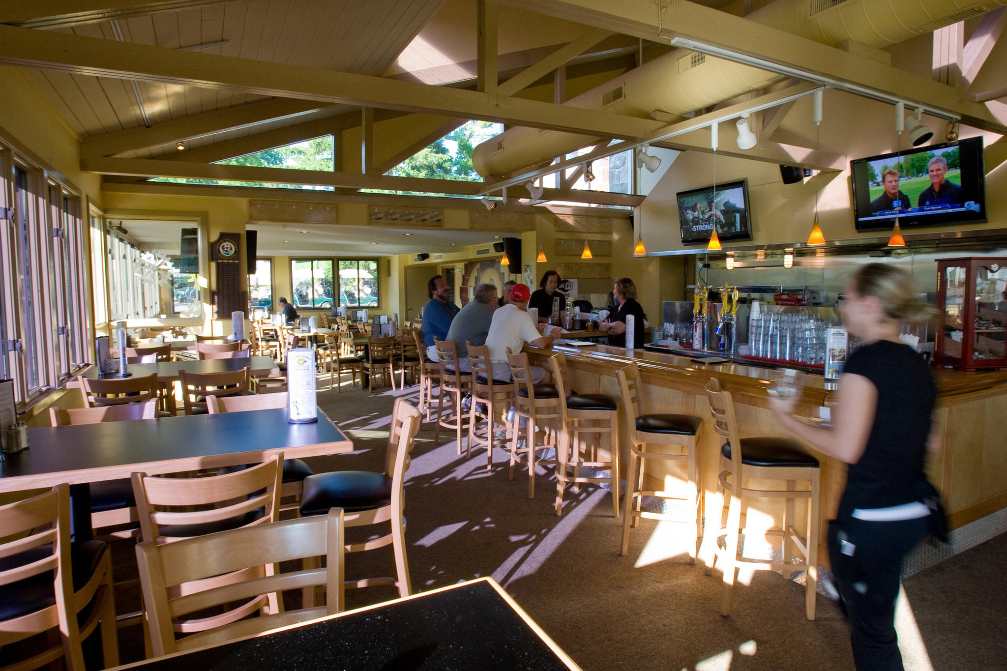 Brew Works on the Green served as the Allentown Municipal Golf Course restaurant for several years until 2013, when the city hired a different operator. That operator's contract recently ended prematurely.